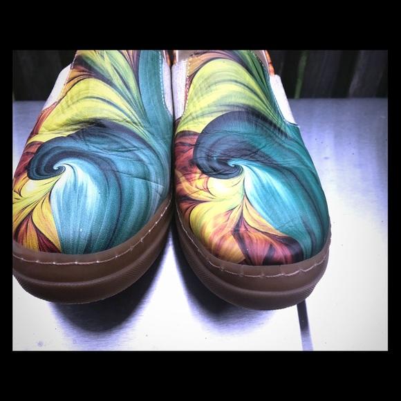 f47058a48f3 Los Ojo Shoes - Los Ojos colorful slip on women s shoe